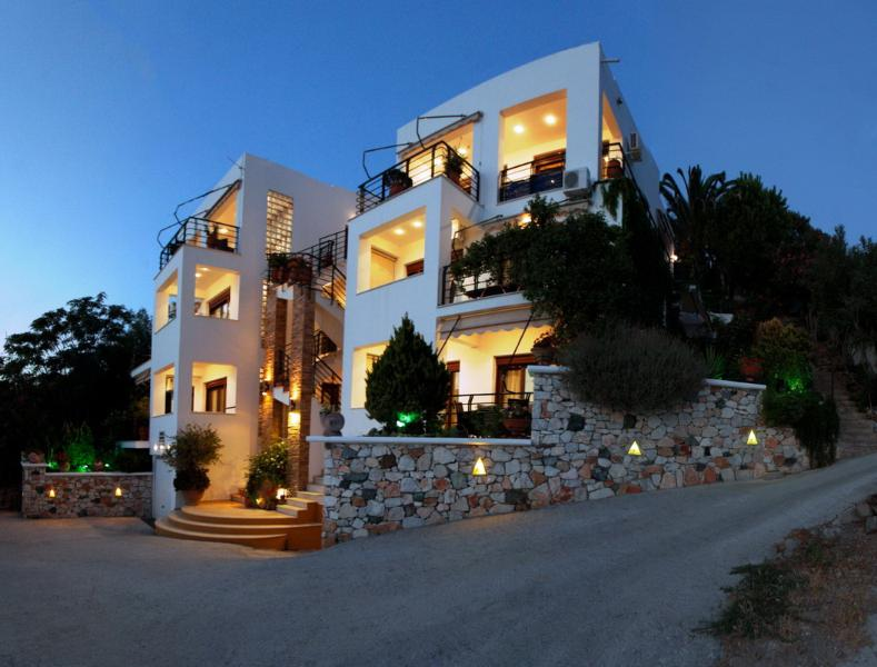 Panorama apartments Plomari Lesvos, location de vacances à Vatera