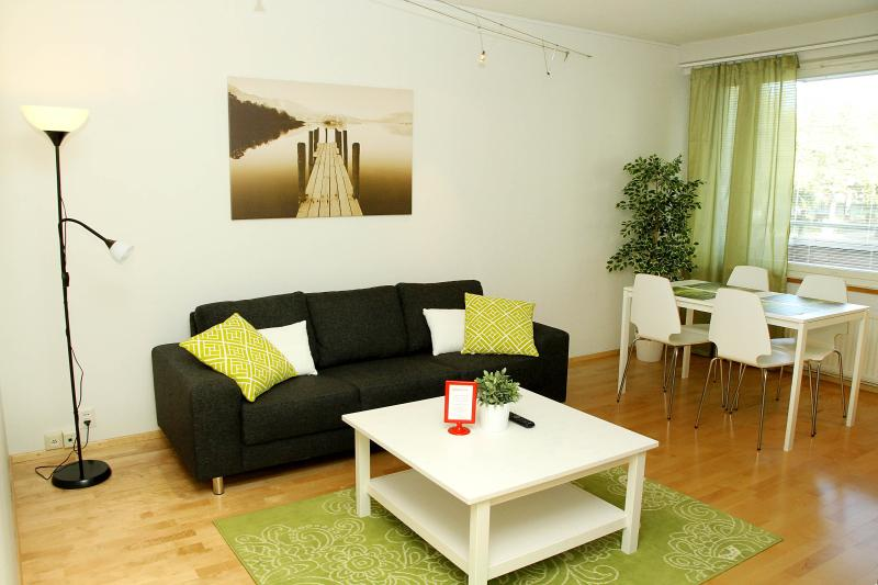 Fresh one bedroom apartment located in the city center of Joensuu.