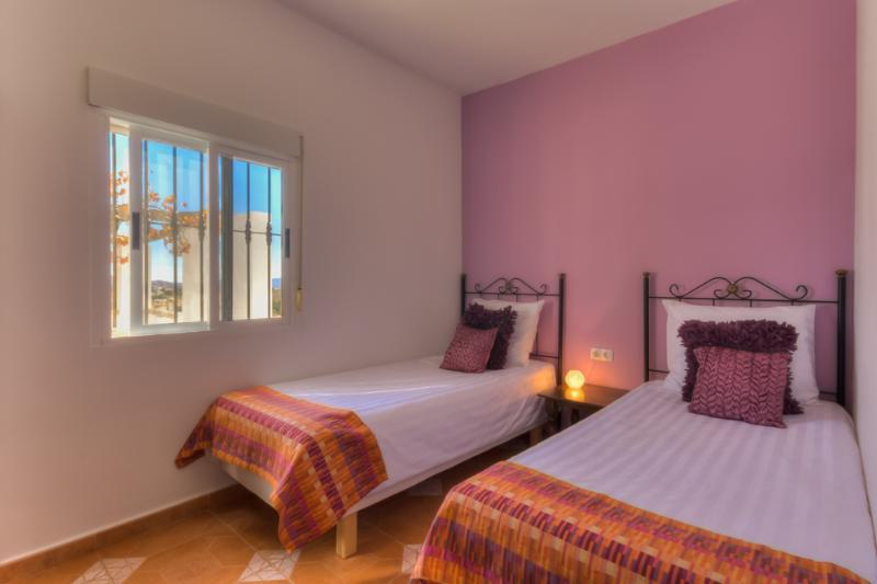 Slaapkamer appartement Papaya