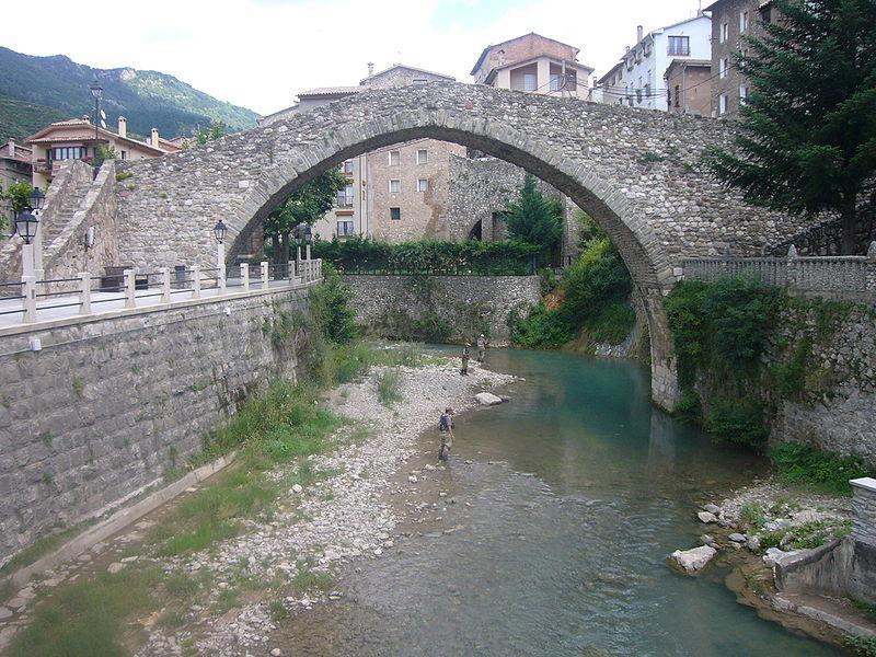 Pont romà a la Pobla