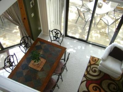 Vista del salón desde Loft