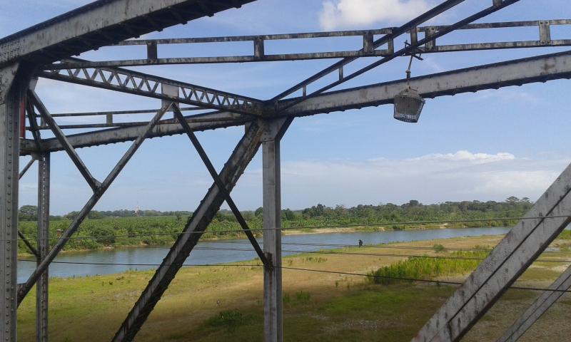 Old Railwaiy Bridge in Changuinola