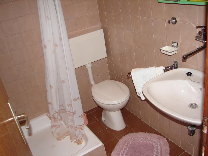 A2 Zuti (2+1): bathroom with toilet