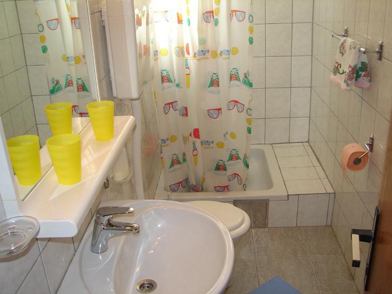 A3 Prizemlje (2+1): bathroom with toilet