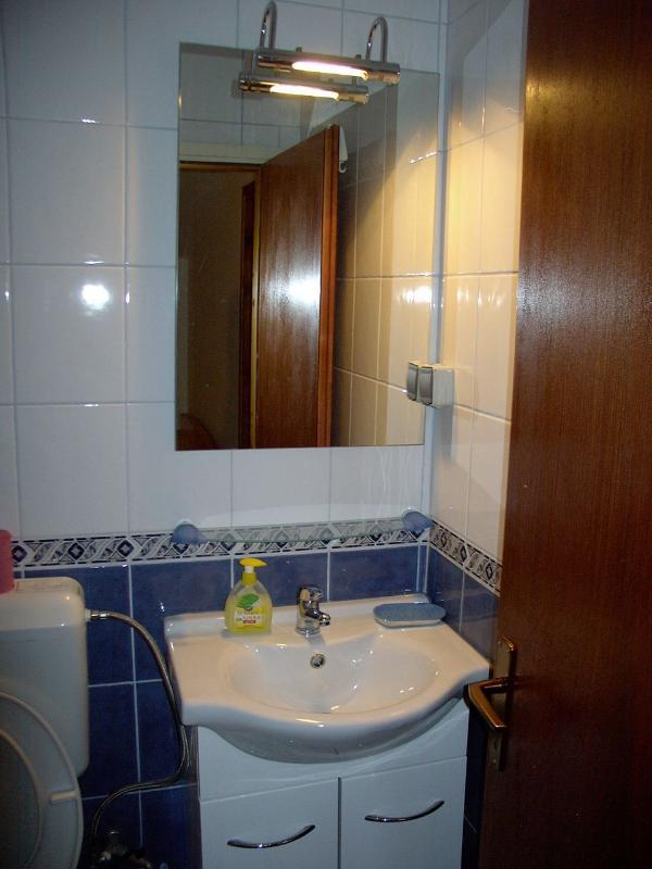 A12 (3 + 2): salle de bain avec toilette