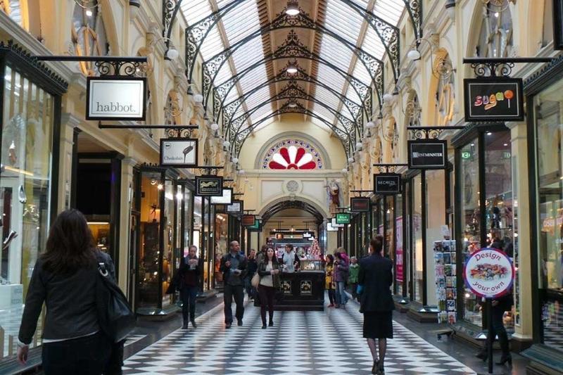 You're amongst beautiful Victorian era buildings.