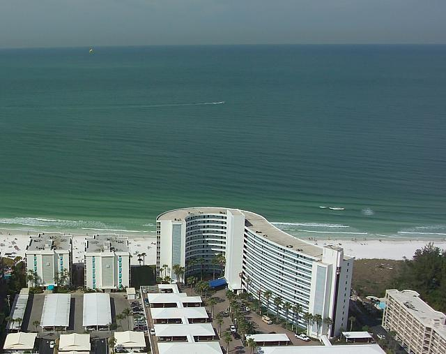 View of Crystal Sands looking toward the Gulf of Mexico
