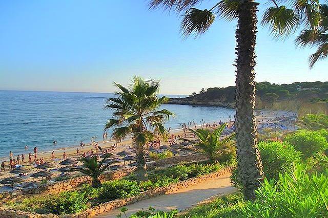 Praia de Santa Eulália Strand