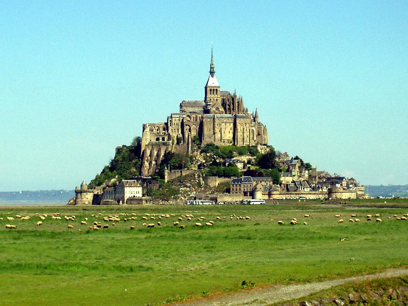 Mont St Michel, the famous Monastery is another must to visit within easy drive.