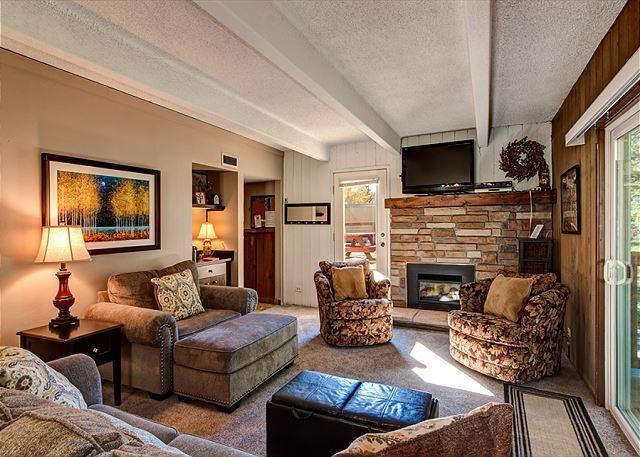 Columbine Living Area Breckenridge Hébergements Locations de Vacances