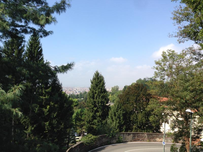 From the park you can enjoy the view of Turin city and Alps