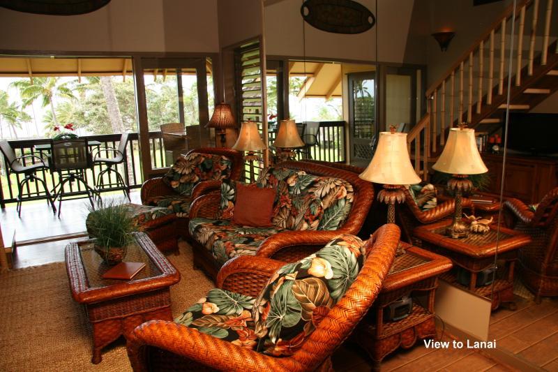 Hermoso adorno hawaiano a través de esta unidad de lujo.