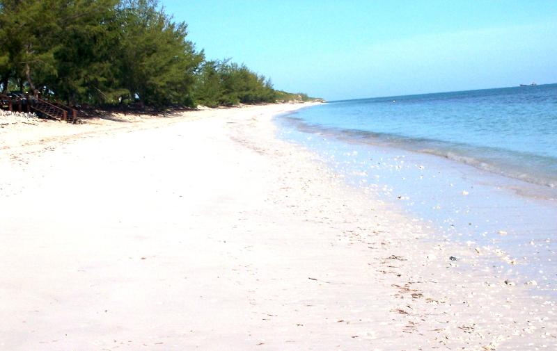 Your beach, you can literally walk for miles and miles and miles.....