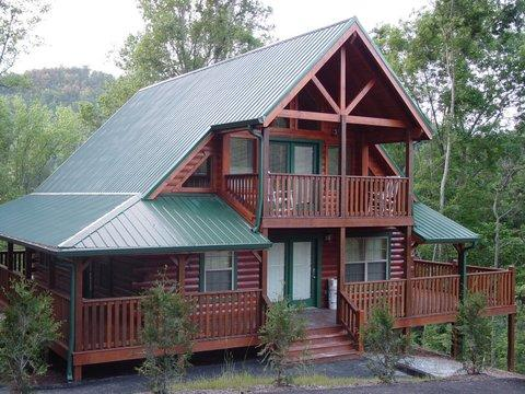 Our beautiful cabin!