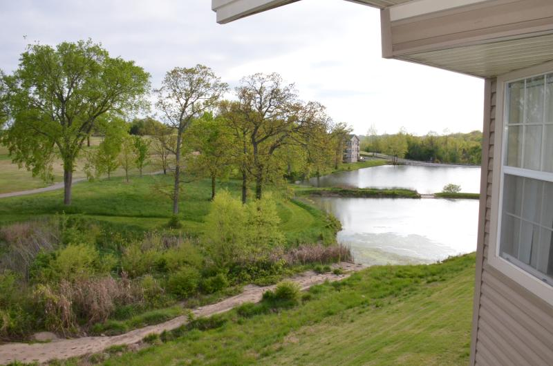 View of Fishing Lake from Balcony