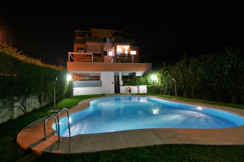 Vista de Apartamento desde la piscina