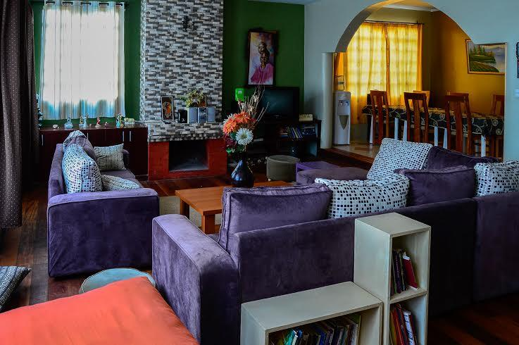 Kerarapony House - our refurbished lounge