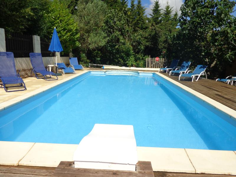 The Pool in the summer