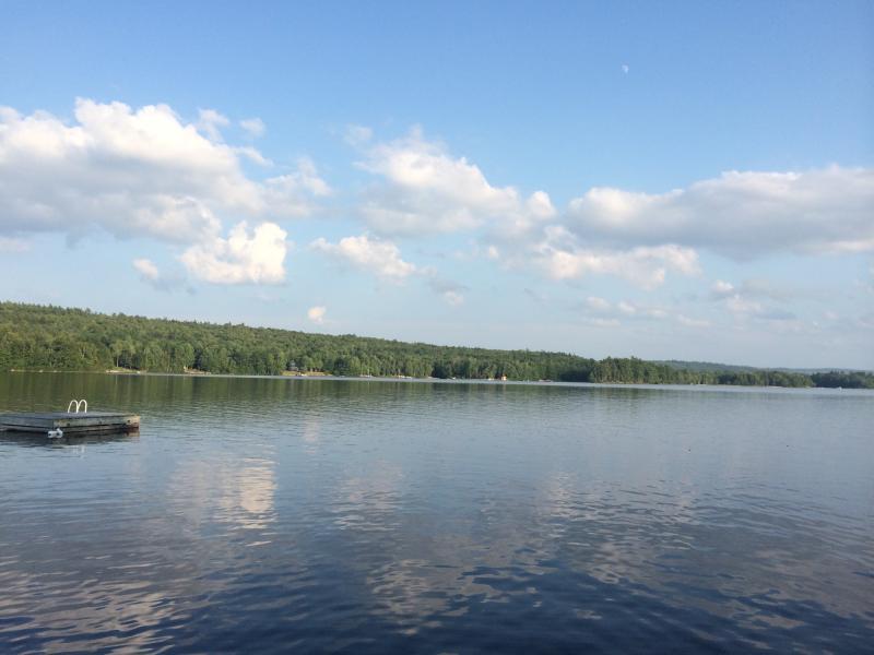 Beautiful Falls lake from the dock