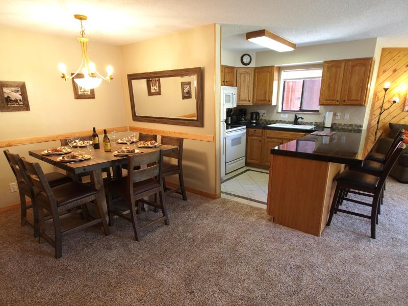 Open keuken, eetkamer en living room