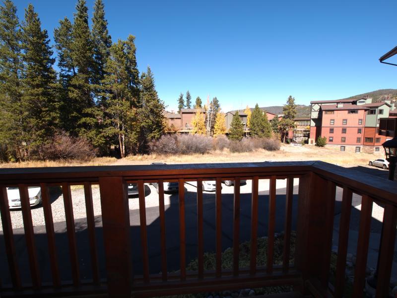 Uitzicht vanaf balkon slaapkamer (4 uur lopen)