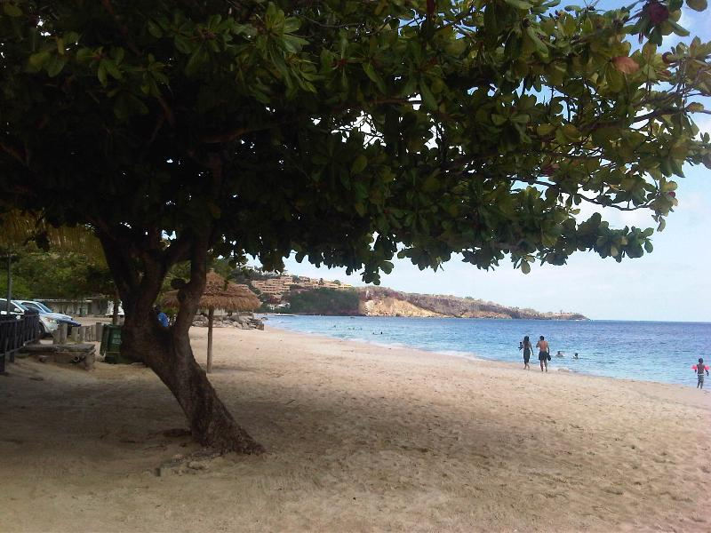 Grand Anse beach. The best in the Caribbean