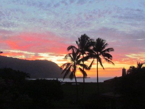 Relax and Entertain with Spectacular Sunset Views from Inside and Outside on Lanai