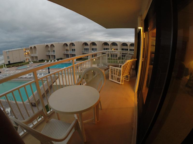 Balcony suitable for dining or relaxing