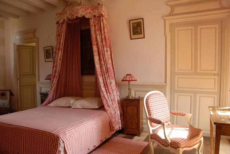 Chambre Caroline Château de Chambiers, holiday rental in Jarze