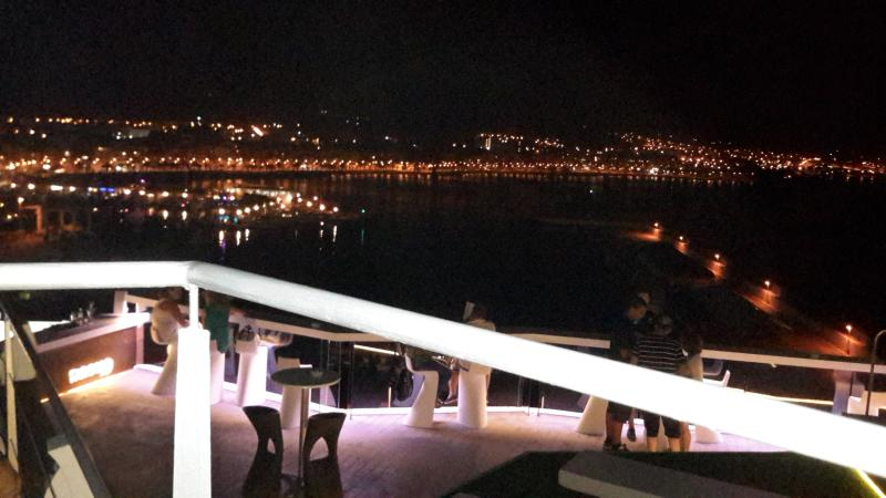 View from Bar El Faro
