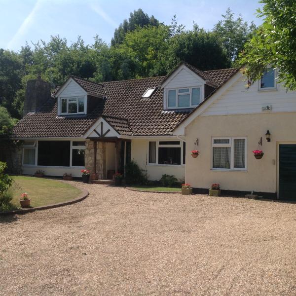 Belle maison de famille dans le Hampshire.