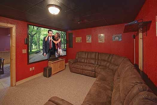Theater Room at A Finders Keepers
