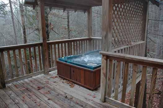 Hot Tub at A Great Escape