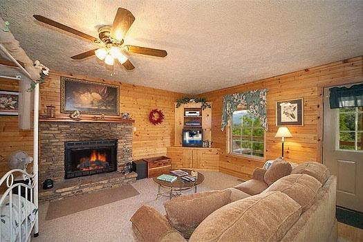 Living Room at Hideaway