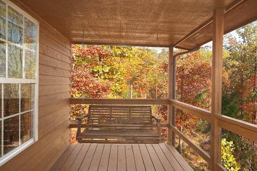 Deck at Hideaway