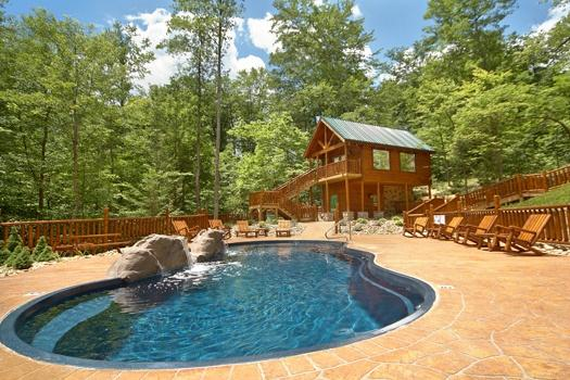 Resort Pool at Bear's Winter Hideaway