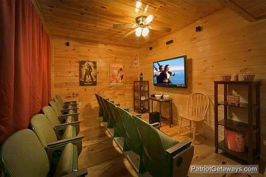 Sala de teatro en Hickernut Logia