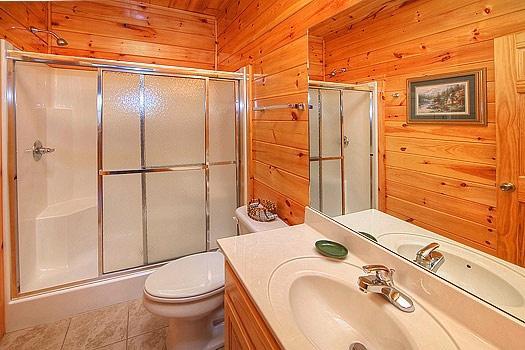 Cuarto de baño en Hickernut Logia