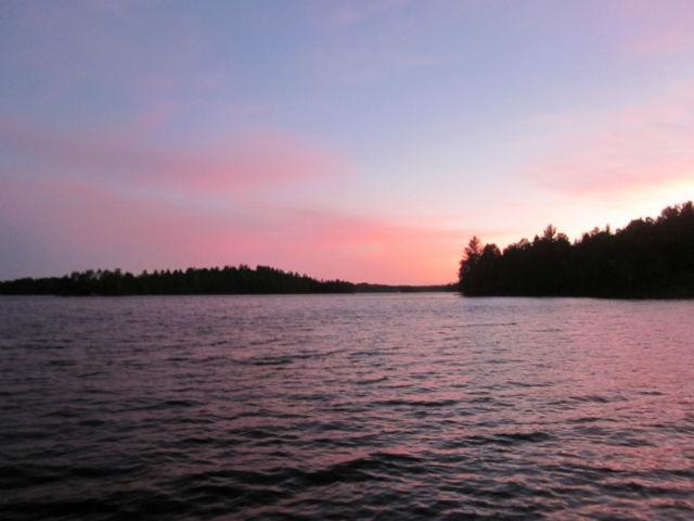 View of sunsets from deck and dock; great fishing!
