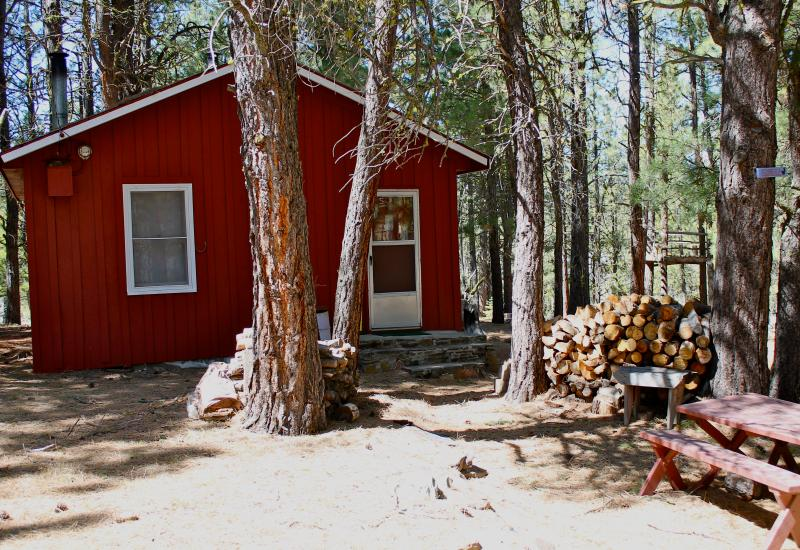 most relaxing weekend ever review of rustic cabin squirrelville rh tripadvisor com