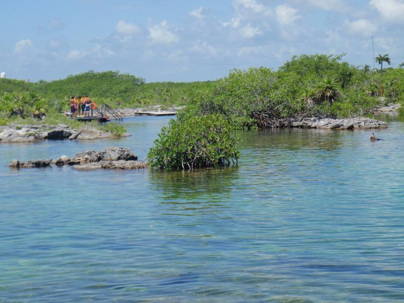 Yal Ku Lagune zum Schnorcheln