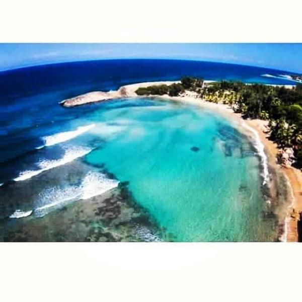Aerial view of Jobos Beach