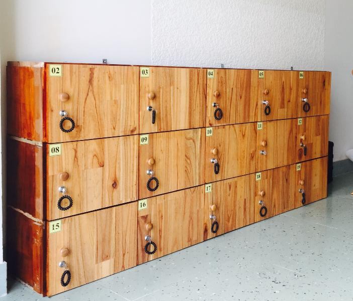 Beanbag lockers for free