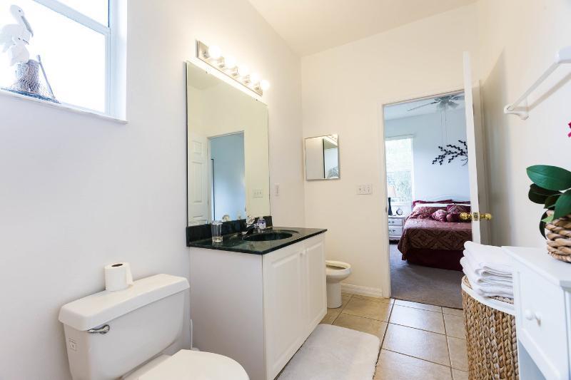 O quarto da rainha com casa de banho