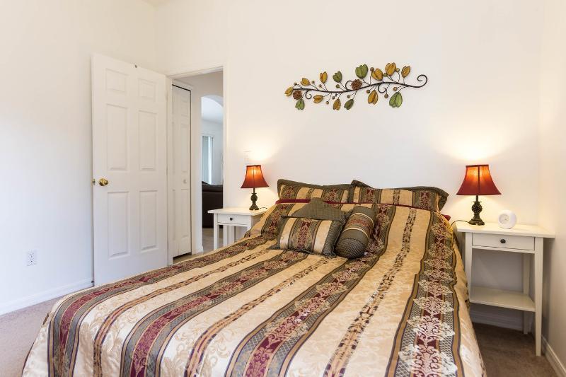 O quarto do casal.