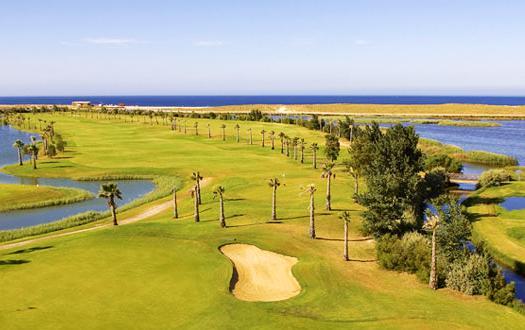 Salgados golf and Lagoon 3.5 km