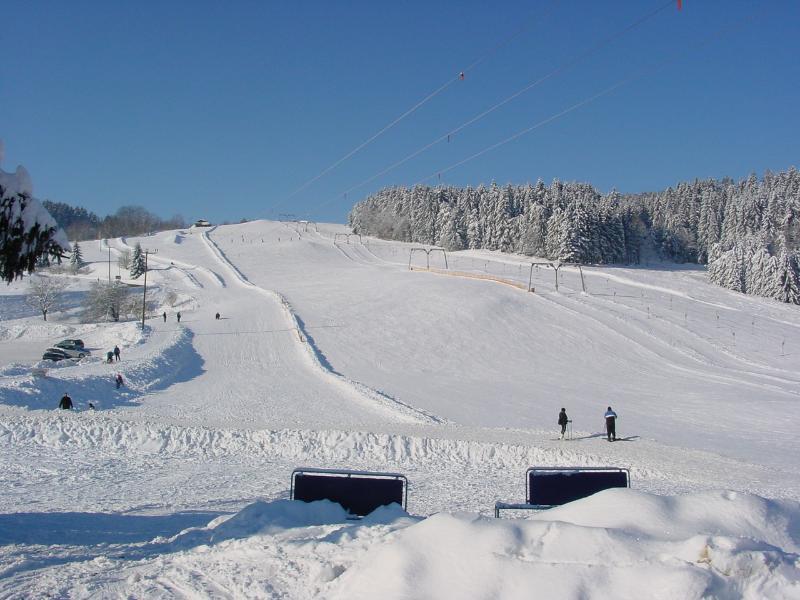 Ski- und Rodelabfahrt bei St.Englmar