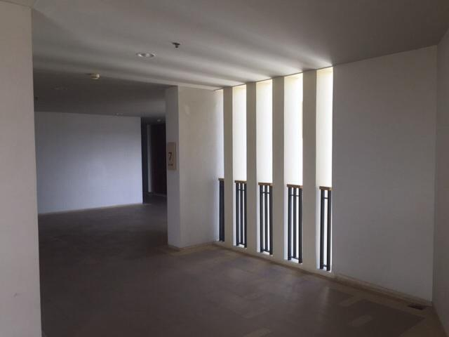 The corridor of each floors of the building