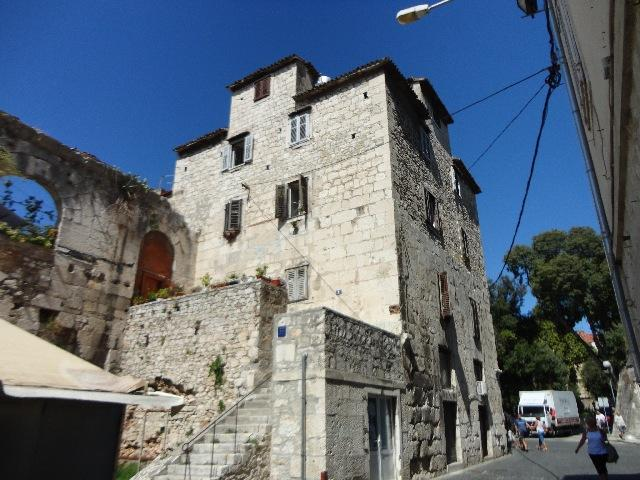 North-east tower of Dioklecian palace!