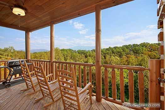 Deck at Majestic Mountain View